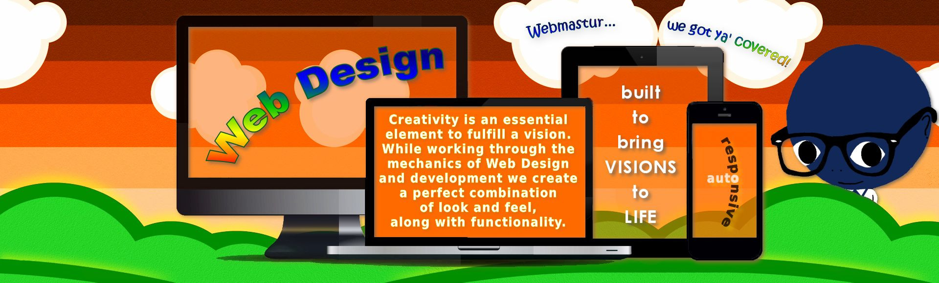 webmastur slide web design